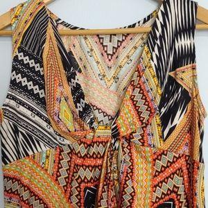 Uncle Frank Cotton Midi Dress Size S